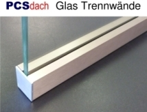 GTW Glastrennwand Profile